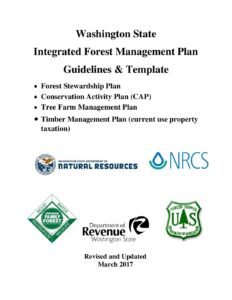Integrated Forest Management Plan Guidelines Templates
