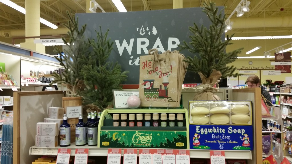 Oak Basin essential oils sold at New Seasons.